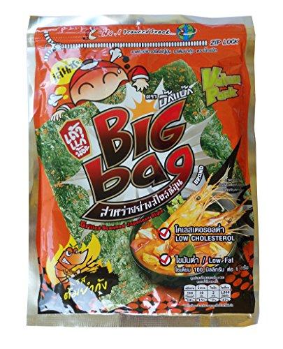 crispy-grilled-seaweed-6-x-10g-sheets-tao-kae-noi-brand-thai-snack-tom-yum-gung-flavour