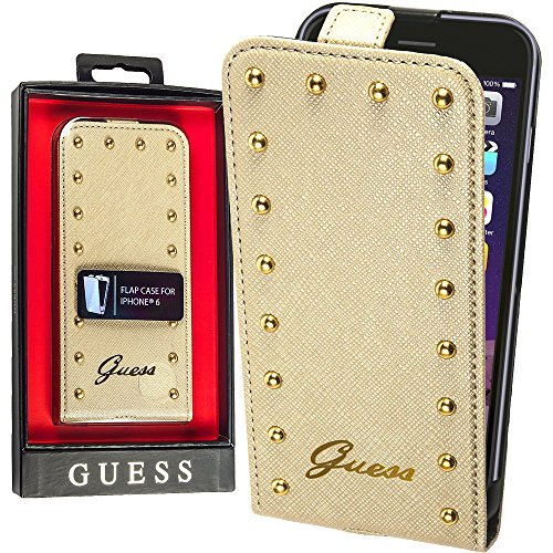 Guess Cream Studded Flip Case for iPhone 6Housse Sac