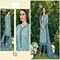 Unstitched Suit Pakistani Style Casual Wear Salwar Suit For Women by DS Fabrics