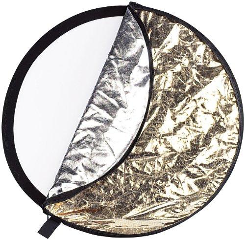 Somikon 5-fach Foto-Faltreflektor (Durchmesser 100 cm)