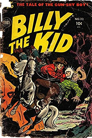 POSTER comics cover Toby Minoan Billy the Kid The 23