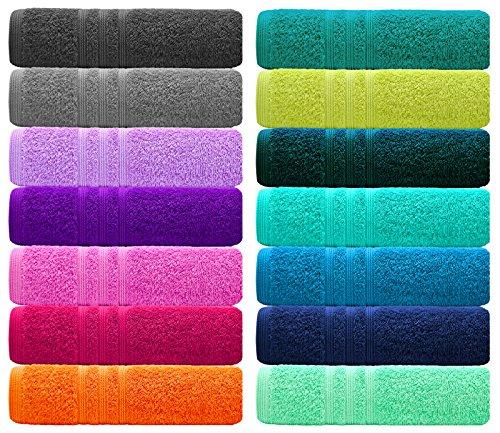 Saunatuch Uni Sarong-Saunakilt für die Dame, Farbe: natur mit Strickerei Wellness und Klettverschluss