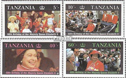 tanzanie 391-394 (complète.Edition.) 1987 Queen Elizabeth ii. (Timbres pour les collectionneurs) a523d492-940c-40f4-b050-46bd809b3a1e