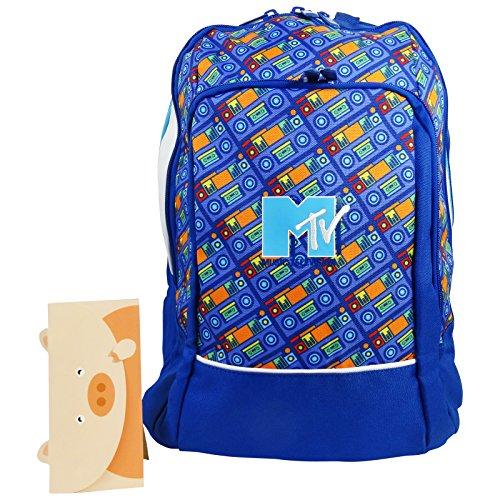 mtv-sac-a-dos-sac-pour-lecole-loisir-bleu-avec-cadeau-running