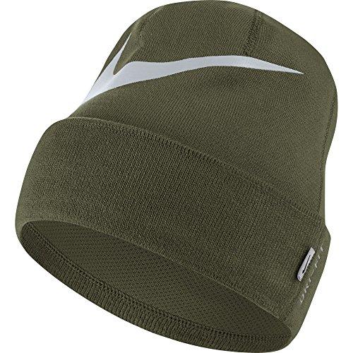 Nike Herren Swosh Cuffed Mütze, Olive Canvas/Pure Platinum, One Size