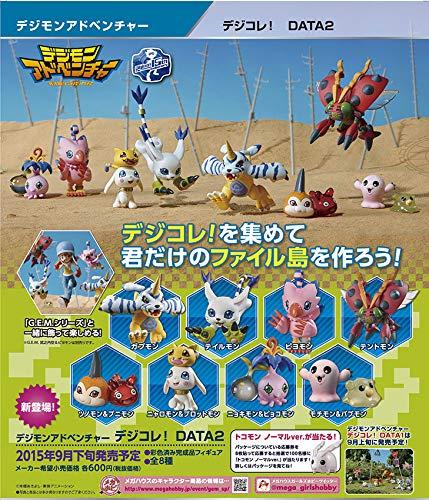 Digimon Adventure Digicolle! Series Figures 6 cm Assortment Data 2 (8)