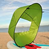 Vela a vento pieghevole per kayak e kayak a vela resistente e sicura per kayak, barca a vela a vela, canoa sup paddle…
