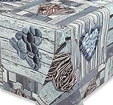 Wachstuch Tischdecke Gartentischdecke, Meterware abwischbar, glatt Cuore Herz, Größe wählbar (100 x 140 cm)