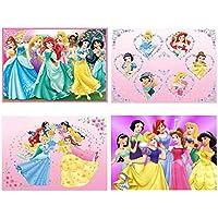 Set 4 Tovagliette Principesse Disney