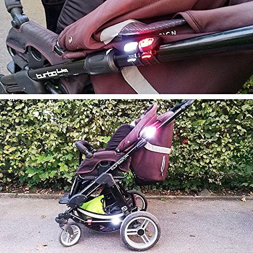 Collory mini LED Silikon-Leuchte Set inkl. Batterien 6V ...