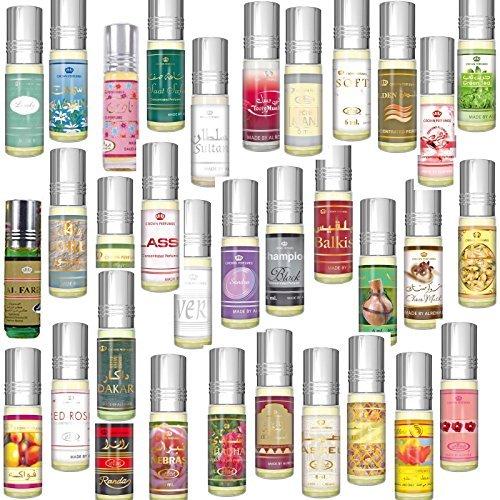 Prime Top Qualität Duft Unisex Frei von alkohol Meist Verkauft Parfums für Herren/Damen 6 ML Verschiedene Parfümöl - SAAT-SAFA, 6ML