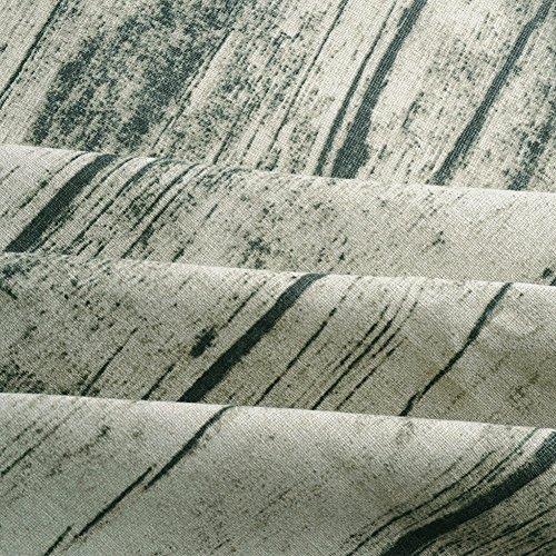 Leinen Tischdecke Chambray Natürliche rechteckige 60 Zoll bis 80 Zoll Baumwolle Ramie Küchentisch Abdeckung Holz Korn Muster (90 x 90cm) -