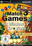 Match 3 Games für Windws 7, XP & Vista - [PC] -