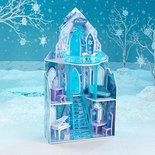 KidKraft 65881 Puppenhaus Disney Frozen Ice Castle, bunt - 8