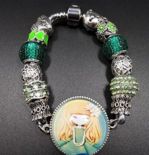 ZoraQ Craft Kits Perlen Schmuck Cartoon Charakter Armband -