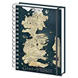Game of Thrones Carte sr72111 Carnet A5