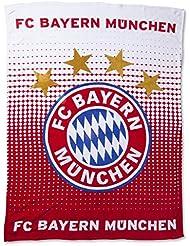 FC Bayern FC Bayern fleece blanket rot size 150x200 cm by F.C. Bayern Munich