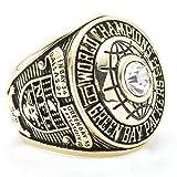 Herren Das Jahr 1966 Green Bay Packers Meisterschaft Ringe,Größe 57 (18.1)