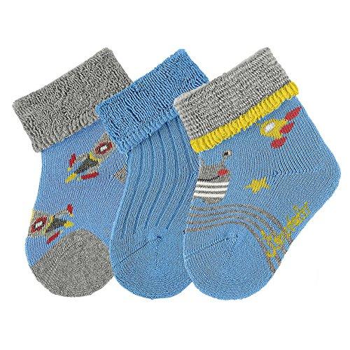 sterntaler-baby-jungen-socken-sockchen-3er-pack-rakete-blau-azurblau-396-18
