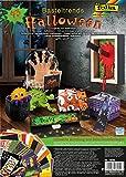FOLIA Halloween Basteltrends 43 Teile inkl. Anleitung Fasching basteln Motivkarton