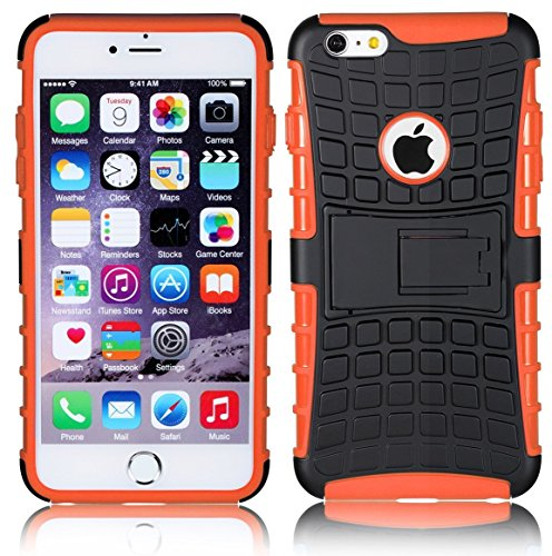 DN® Smart Schutzhülle für Apple iPod Touch 5und Apple iPod Touch 6, Slim Survivor ORANGE, iPod Touch 5 (Ipod Touch Survivor Slim)
