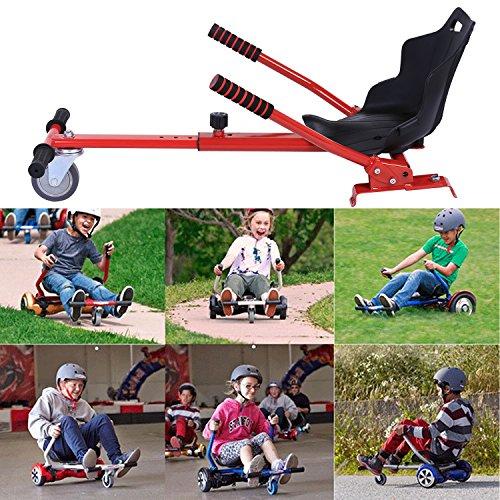 Imposes Hoverkart für 6,5/8/10 Zoll Hoversitz Verstellbar Länge(73-90 cm) Scootersitz Hovokart Kinder Erwachsene