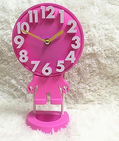 NAUY 6 Zoll Kreative Persnlichkeit Wohnzimmertisch Uhr Mode Moderne Stereoskopische 3D