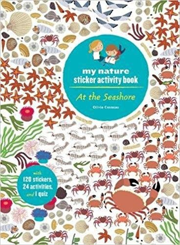 At The Seashore. My Nature Sticker Activity Book por Cosneau Olivia
