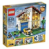 LEGO?? CREATOR?? 3-in-1 Family House Building Set - Mediterranean Villa | 31012 by LEGO