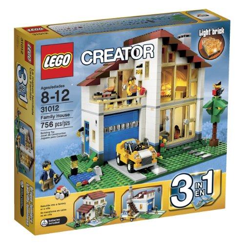 LEGO?? CREATOR?? 3-in-1 Family House Building Set - Mediterranean Villa | 31012 by LEGO