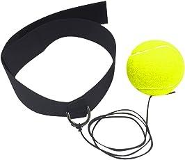 samLIKE Kampfball mit Kopfband für Reflex Speed Training Boxen Boxen Punch Übung