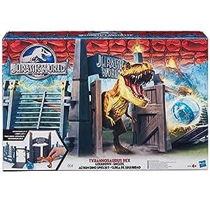 Jurassic World - B3755eu40 - Figurine Dinosaure - Enclos Du T-rex