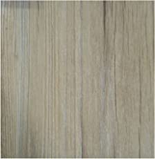 DVK FORTUNE Wooden PVC Vinyl Flooring 2mm Thickness(3ft ,6 Inch) 1.5 Sq Ft-Grey