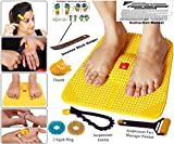 #7: Super India Store Acupressure Power Mat With Magnets Pyramids For Pain Relief And Total Health (Premium)