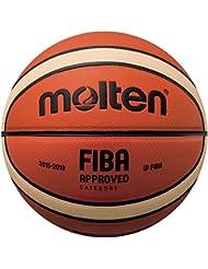 Molten Bgm7X Pallacanestro Basketball, Orange/Tan, Official Size 7