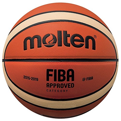 Molten Basketball, Orange/Ivory, 7, - Basketball-spiel Ball