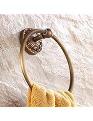 Anillo de toalla Toalla redonda europea Toalla colgante Anillo Anillo toalla Rack