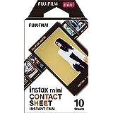 """Fujifilm Película instantánea instax mini """"hoja de contactos"""", 10 fotos"""