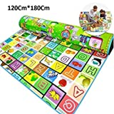 Amazing Double Sided Water Proof Baby Crawl Play Mat (Multicolour)