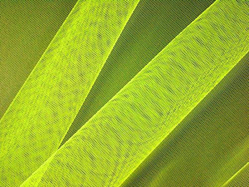 Tulle nylon soft-jaune fluo-dimensions: env. 150 cm