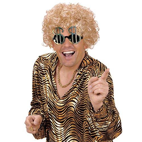 NET TOYS Dollarzeichen Brille Sonnenbrille Dollar Spaßbrille Scherzbrille Dollarbrille Partybrille Fasching Karneval
