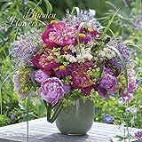Blumen 2018 - Flowers - Broschürenkalender (30 x 60 geöffnet) - Wandplaner - ALPHA EDITION