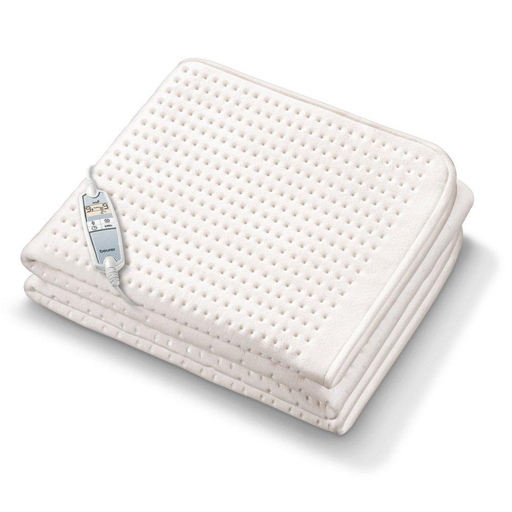 Beurer UB 100 Cosy Spann-Wärmeunterbett, extra weich, 2 separate Temperaturzonen
