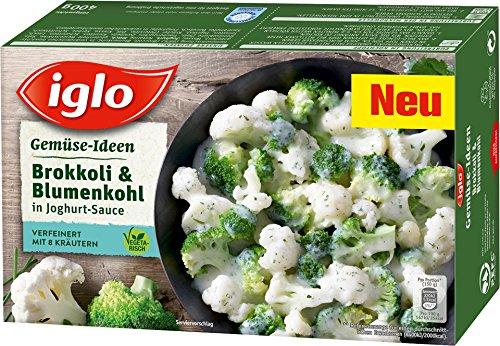 Iglo - Gemüse-Ideen Brokkoli & Blumenkohl in Joghurt-Sauce TK - 400g