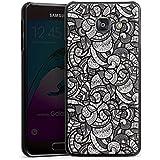 Samsung Galaxy A3 (2016) Housse Étui Protection Coque Cercles Ornement Monochrome
