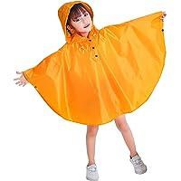 Bambini Impermeabile Giacca da Pioggia Poncho da Pioggia Bambina Incappucciato Riutilizzabile Cappotto di Pioggia Bello…