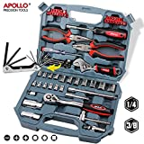 67 Piece Apollo Auto Mechanics Tool Kit including - Best Reviews Guide