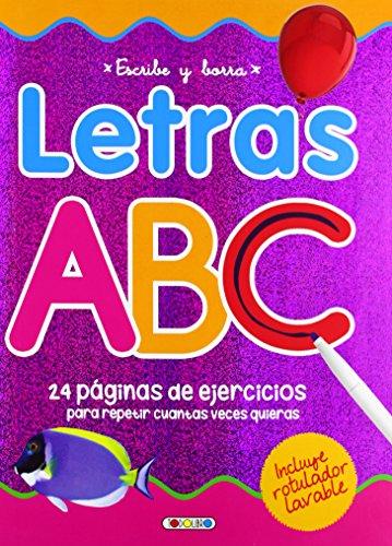 Escribe y borra letras ABC (Aprendo con mi pizarra) por Equipo Todolibro