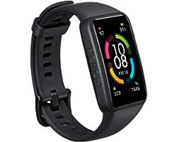 """HONOR Band 6 Orologio Fitness Tracker Uomo Donna Android iOS Smart Band, 1.47"""" Schermo Durata della Batteria di 14 Giorni Imp"""