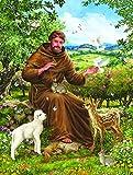 SunsOut 59768 - Dillon: St. Francis und die Tiere - 500 Teile Puzzle